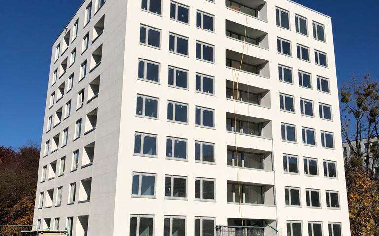 Bauprojekt Hochhaus